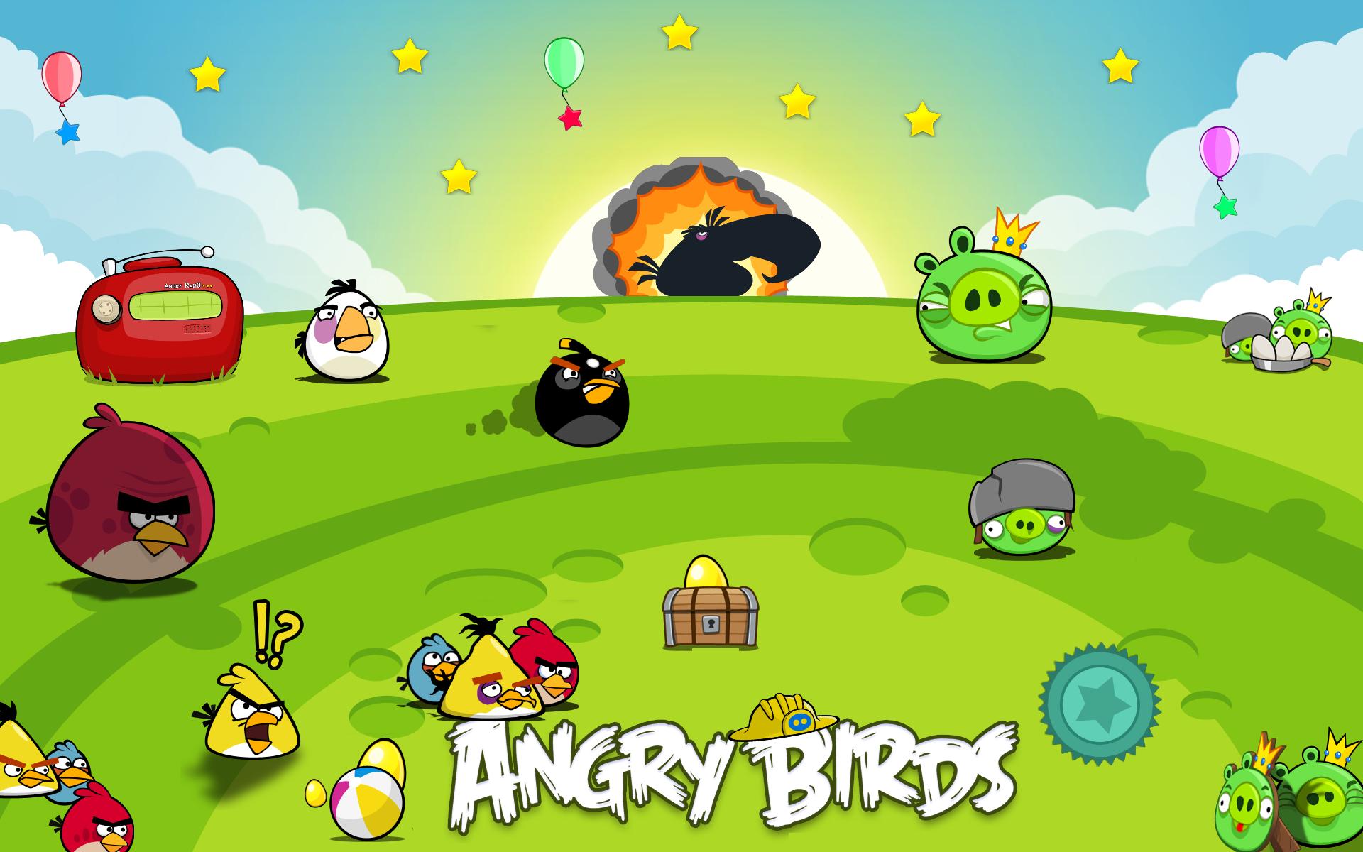Bird marah makanya dinamakan angry Bird mau coba game top ini